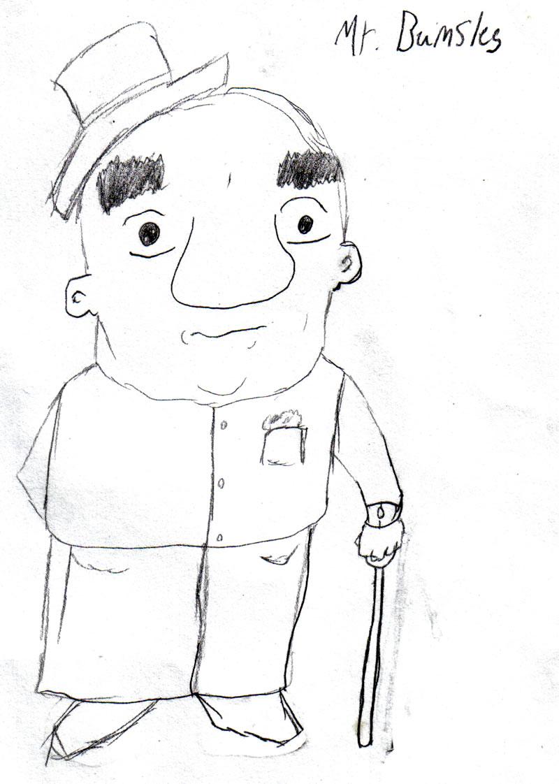 Eddyart - Mr. Bumsles