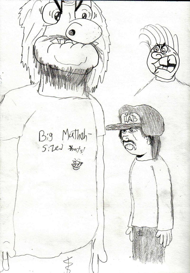Bignose and Spiffy Hats