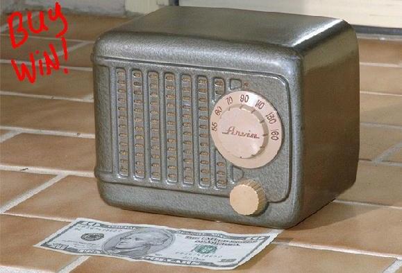 Arvin Radio Model #243-T (1948)
