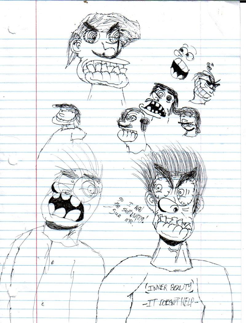 Ugly Angry Guys and Bob