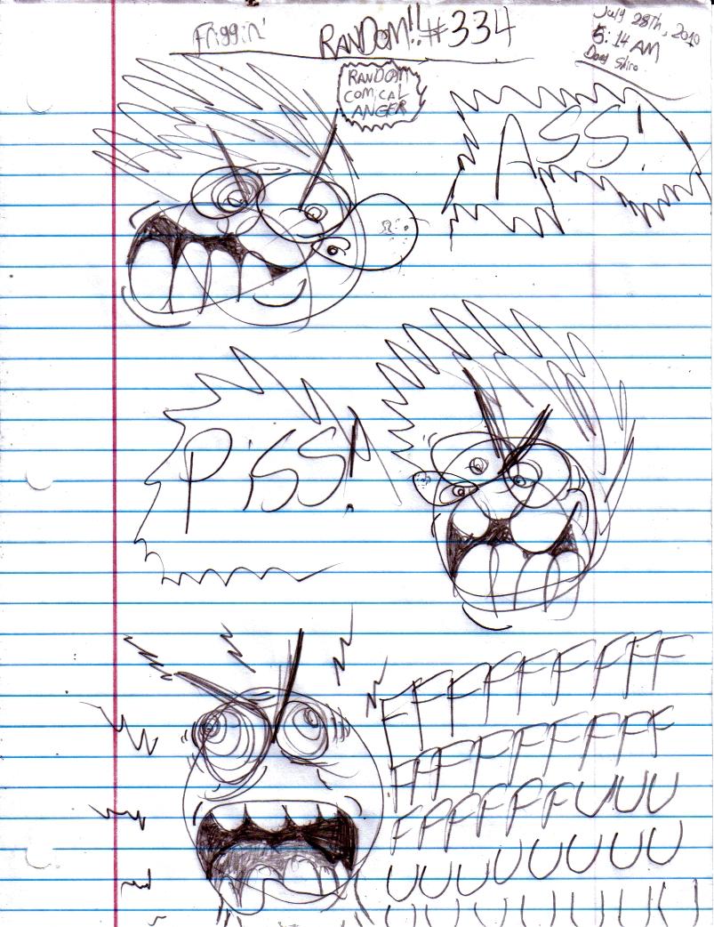 Random Comic Anger