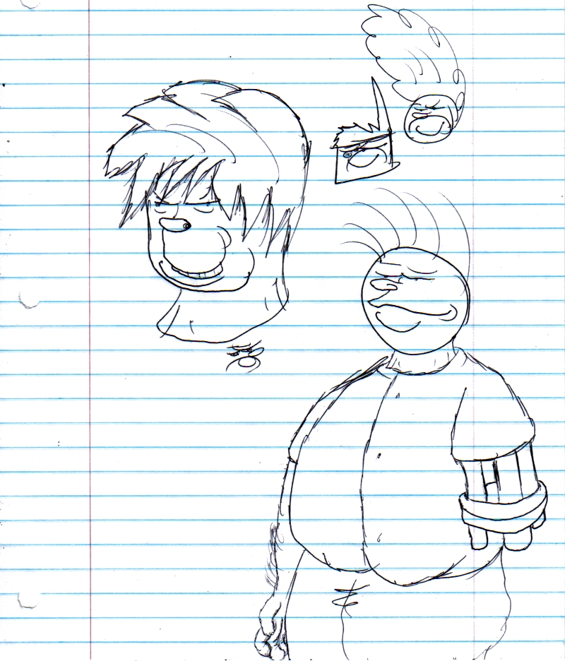 Bob sketches