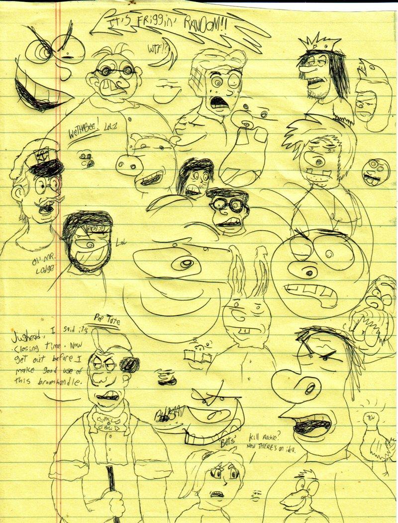 Friggin Random with Archie Comics