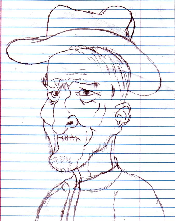 Old farmer-type guy.
